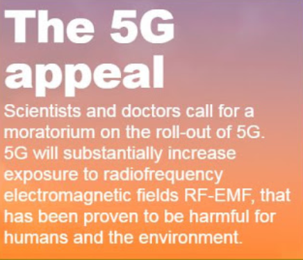 Scientists appeal to European Union to stop 5G