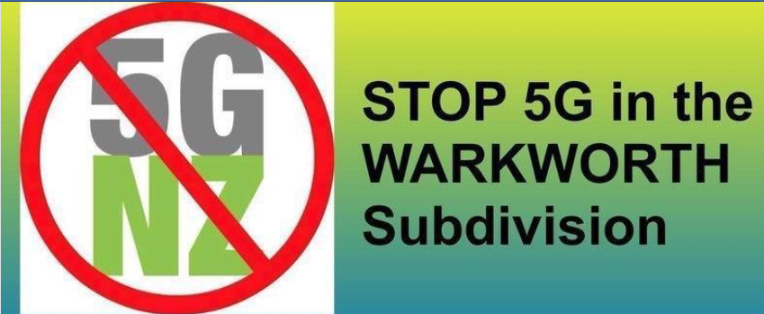 Public Meeting on 5G in Warkworth 28 September 2019